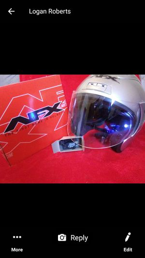 Two motorcycle helmets Hutchinson ks for Sale in Willowbrook, KS