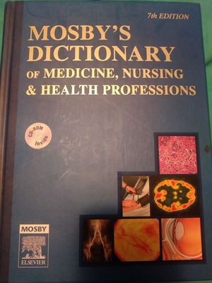 Nursing school mosby's nursing and medicine dictionary for Sale in Knoxville, TN