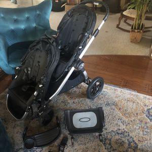2016 City Select Double Stroller w/accessories for Sale in El Cajon, CA