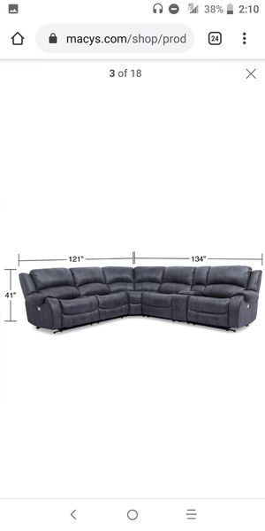 Sectional Leather couches. for Sale in Federal Way, WA