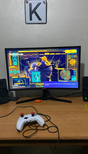 """27"""" Samsung curved monitor for Sale in Stewartstown, PA"""