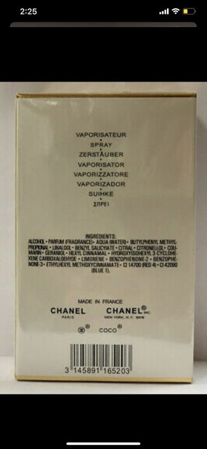 Chanel mademoiselle 3.4oz woman fragrance for Sale in Hamtramck, MI