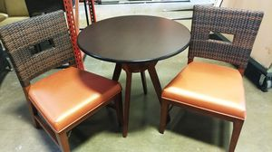 Bistro table with chairs 500obo for Sale in Orlando, FL