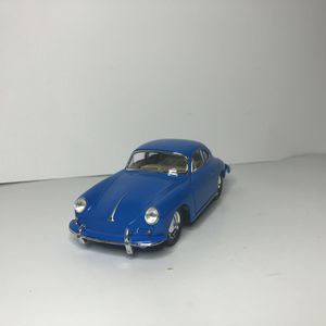NEW 1960s Blue Porsche 356 B Carrera 2 Sports Racing Car Toy Diecast Metal Model Vintage Classic for Sale, used for sale  Trenton, NJ