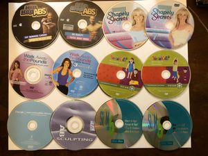 18 exercise DVD's for Sale in Phoenix, AZ