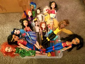 Lot of 14 Female Action Figures for Sale in Chesapeake, VA