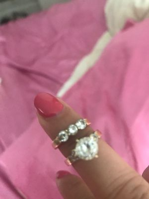 14k gold one Set ring size -4 so much gold for Sale in Baltimore, MD