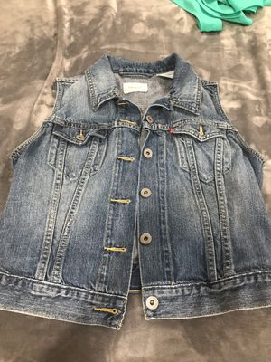 Levi Jean Vest Ladies Size M for Sale in Gaithersburg, MD