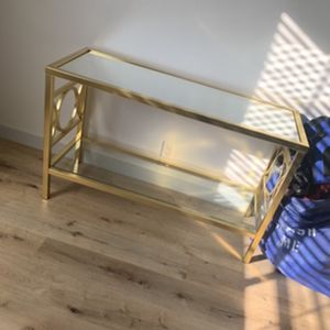 Gold Console Table For Sale for Sale in Long Beach, CA