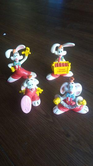 Used, Who framed Roger Rabbit pvc figures for Sale for sale  Westminster, CA