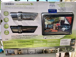 Uniden indoor/outdoor wireless security system for Sale in Chula Vista, CA