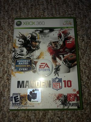Madden 10 for Sale in Baltimore, MD