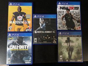 Ps4 Games (read description for price!) for Sale in San Fernando, CA