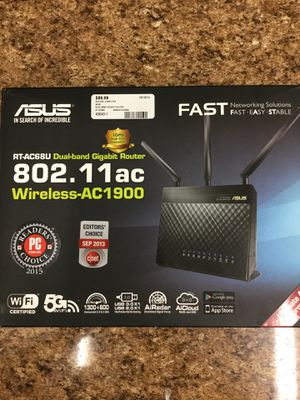 Asus Wireless AC1900 Dual Band Gigabit Router for Sale in Pomona, CA