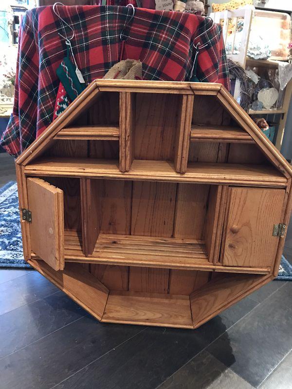Handmade Solid Wood Small Shelf