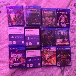 Selling 12 Games Ps4 , Give Me A Price for Sale in Silver Spring,  MD