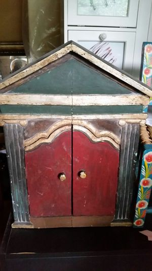 Antique, Small Decorative cabinet for Sale in Los Angeles, CA