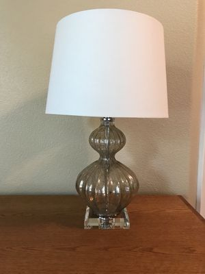"""25"""" tall Regina Andrew mercury glass lamp for Sale in Portland, OR"""