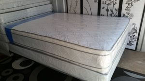 New Full Size Pillowtop Mattress + Box Spring for Sale in Silver Spring, MD
