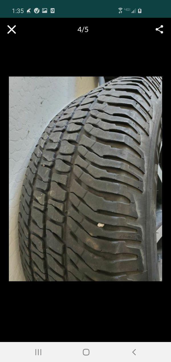 DEAL! 5 Tire & Rims set