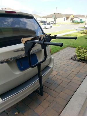 Bike rack Rhode Gear, USA made heavy duty for hitch car truck for Sale in Davenport, FL
