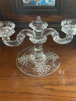 Crystal Double Candle Holder for Sale in Daytona Beach,  FL