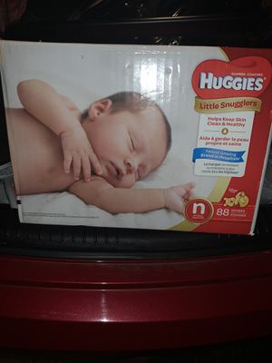 Newborn pampers for Sale in Jonesboro, GA