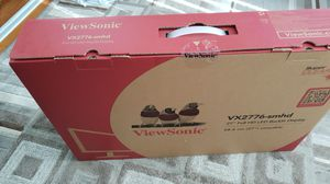 "New ViewSonic VX2776-SMHD 27"" IPS Monitor Speakers DisplayPort HDMI for Sale in Lynn, MA"