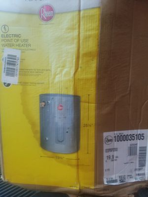 Therm electric hot water heater for Sale in Jacksonville, FL