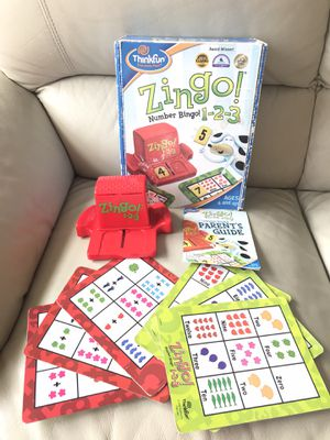 Zingo Number Bingo 1-2-3 Game for Sale in Bethesda, MD