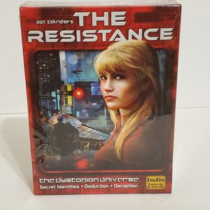 The Resistance Board and Card Game Don Eskridge Sealed New for Sale in La Grange Park, IL