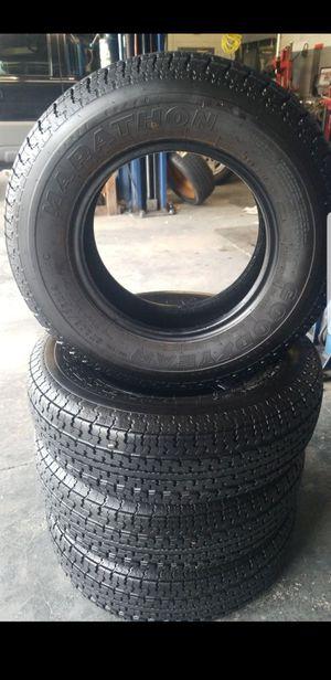 Goodyear tires marathon St 205 75 14 load range C for Sale in Sacramento, CA