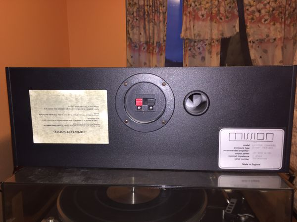 Mission 76C Center Channel Speaker
