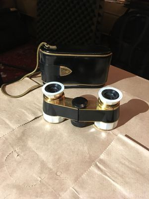 Vintage Carl Zeiss Diadem Opera Glasses w/ Case for Sale in Brooklyn, NY