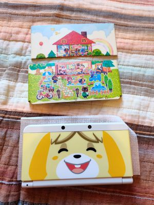 Animal crossing Nintendo new 3ds with 200 3ds games , ds , 2ds for Sale in Los Angeles, CA