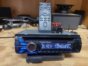 BLUETOOTH SONY STEREO for Sale in Canby, OR