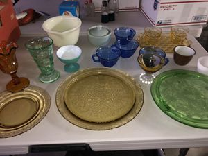 Colored antique glass. for Sale in Fontana, CA
