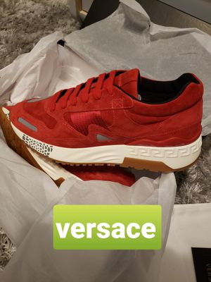 VERSACE shoes, sneakers, tennis Made in Italy 🤑🤑🤑 for Sale in Bellevue, WA