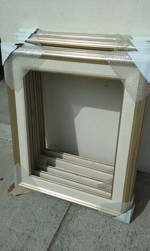 OVER 2500 *Real Wood* NO JUNK *ART & PICTURE FRAMES*NO GLASS!! for Sale in Whittier, CA
