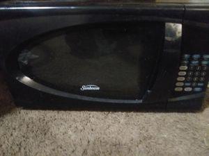 Sunbeam microwave for Sale in Brookhurst, WY