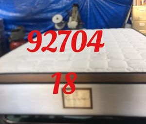 "12"" thick foam Encase 1 Sided Pillow Top mattress. Not rebuild. All new materials. Price includes tax and local delivery. Cash only. Twin Mattre for Sale in Santa Ana, CA"