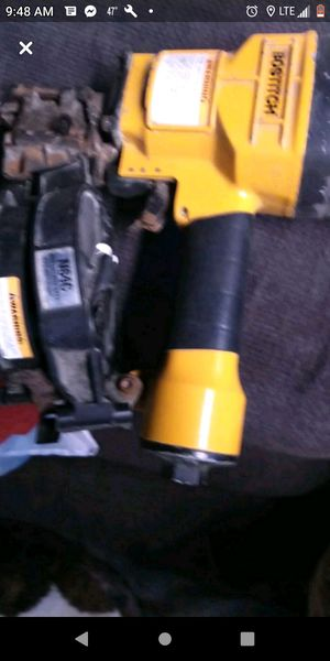 Bostitch n64c coil siding nail gun in excellent condition for Sale in Columbus, OH
