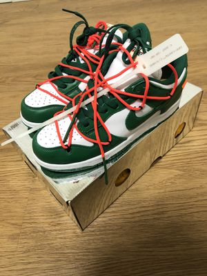Nike Off White Dunks 'Pine Green' for Sale in Alexandria, VA