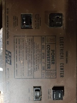 Power converter out of pop up camper for Sale in Dickinson, TX