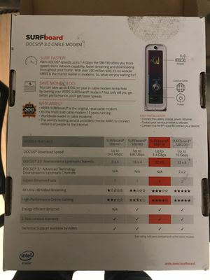 Modem, Arris SB6190 for Sale in Glendale Heights, IL