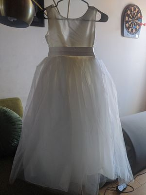 Flower Girl Dress *New* Never worn Size:12 for Sale in Monterey Park, CA