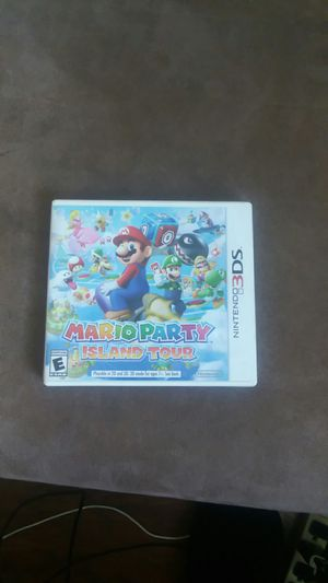Mario Party Island Tour Nintendo 3DS for Sale in Stockton, CA