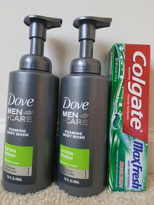 New Dove mens body wash bundle lot for $10 for Sale in Rockville, MD