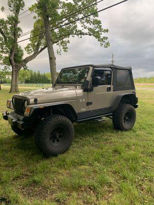 2004 Jeep Wrangler X for Sale in Riverside, NJ