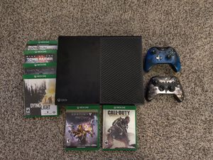 Xbox One with Controlers and Games for Sale in Dallas, TX